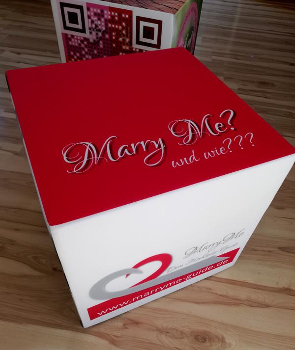 Sitzwürfel-MarryMe